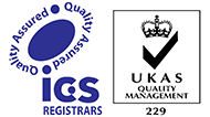 ICS Registrars, Quality Assured, UKAS Quality Management 229